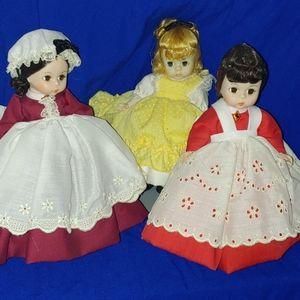 Bundle of Madame Alexander Little Women Dolls